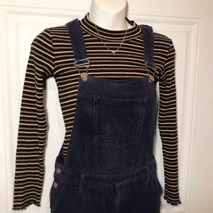 Girls 11/12 corduroy overalls